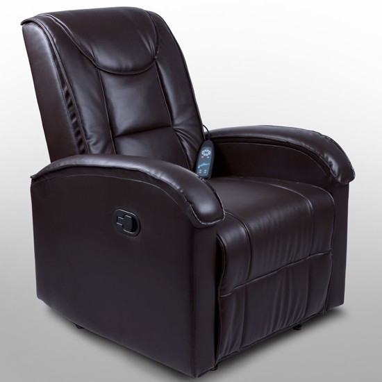 Tanja massagelænestol i brun