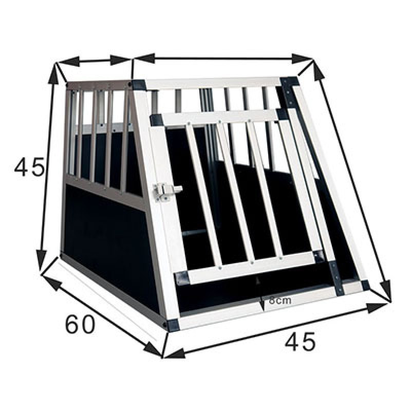 Xtra Small Premium Transportbur Til Små Hunde