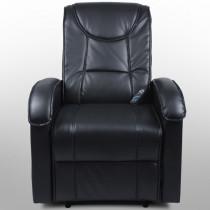 Sisse massagelænestol i sort