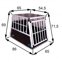 XL PREMIUM transportbur / hundebur til Store Hunde